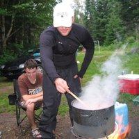 Jókai bableves a kanadai erdőkben