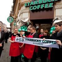 Megnyílt a harmadik Starbucks kávézó is