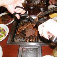 Vaspálca, olló és csipesz - megvolt első koreai vacsoránk a Han Kuk Guan étteremben