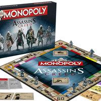Jön az Assassin's Creed Monopoly
