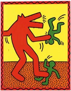 54 éve született Keith Haring