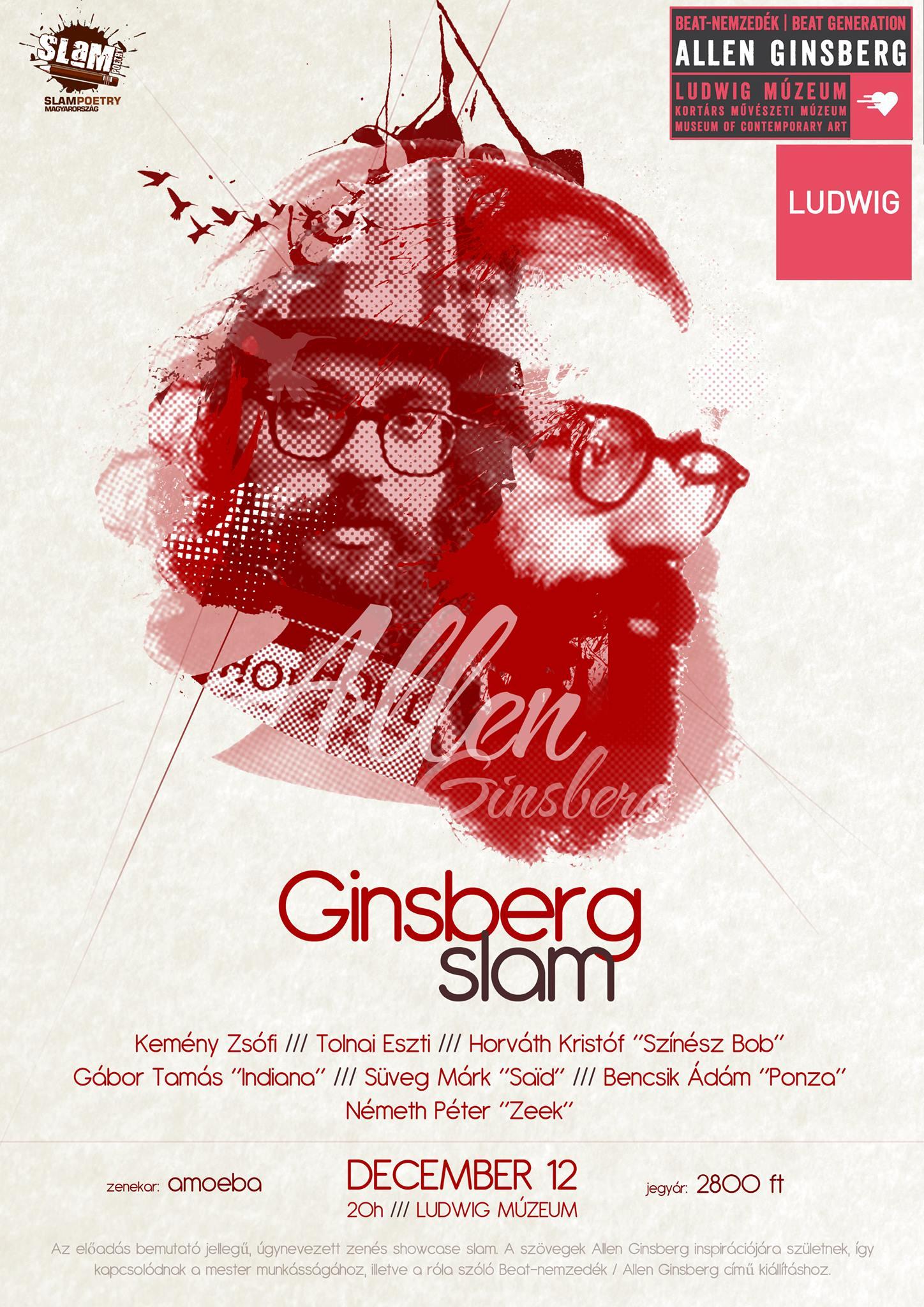 Hommage à Allen Ginsberg
