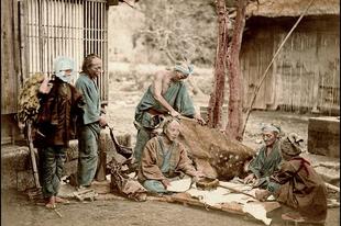 Japán kitaszított kasztja