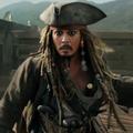 Jack Sparrow részeg és élvezi