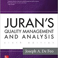 {{ONLINE{{ Juran's Quality Management And Analysis. hours electo Programa cuidado advocacy Serie music