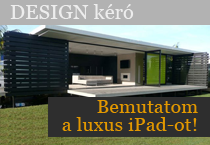 Bemutatom a luxus iPad-ot