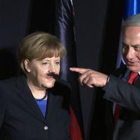 Mennyit ért Merkel véletlen hitlerbajusza?