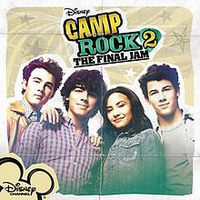 Camp Rock 2 Cast album lista