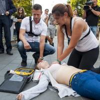 Tartsd életben! - életmentő készülék a Tátra téri piacon