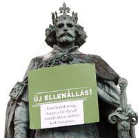 Új Ellenállásra hívnak a budapesti köztéri szobrok is