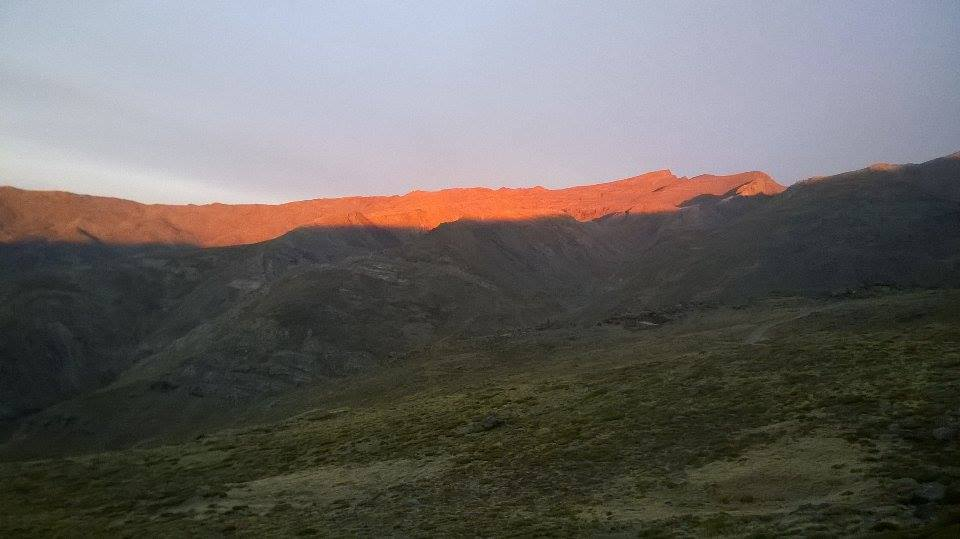 Felkelő nap fénye