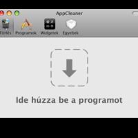 Install és Uninstall Mac gépeken, az AppCleaner ereje!