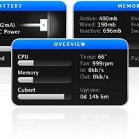 Hardverinformációk - Mac widget