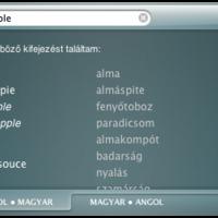SZTAKI szótár - Mac widget