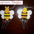 Méhecskés szélcsengő