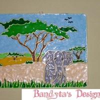 Elefántos kép