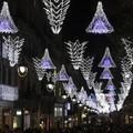 Karácsonyi fények Barcelonában