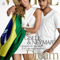 Neymar divatmagazin címlapján