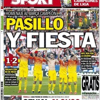 Barcelonai címlapok