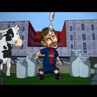 Mit esznek a Barça Toons figurák?