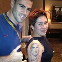 Valdés Moszkvában találkozott legnagyobb rajongójával