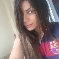A legjobb fenekű csaj is Barça drukker