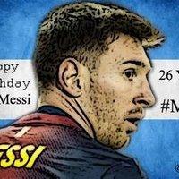 Boldog születésnapot Messi!