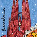 Rajzok, grafikák Barcelonáról