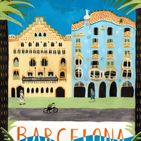 Barcelona rajzolva