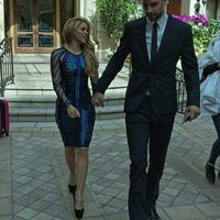 Shakira és Piqué a vörös szőnyegen