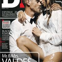 Valdés a csajával pózol a DT magazinban