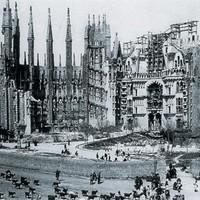 Sagrada Familia az előző évszázad hajnalán