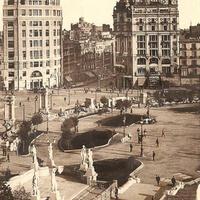 Plaça Catalunya 1930