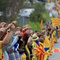 Katalán zászlós fotó az év legjobbjai között a Wall Street Journal-on