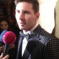 Messi szmokingban