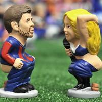 Shakira és Piqué leguggolnak aztán...