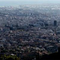 Barcelona nagy látószögben