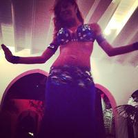 Török hastáncos táncolt Madonnának Ibizán