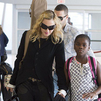 Madonna a JFK reptéren (2014. június 28.)