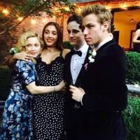 Madonna lánya a LaGuardia középiskola végzősei között
