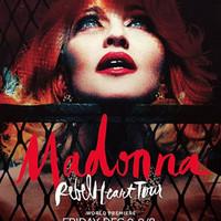 Íme a hivatalos Rebel Heart Tour poszter