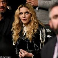 Madonna a UFC 205-ön [2016. november 12.]