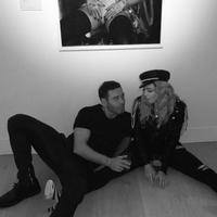 Madonna Mert & Marcus megnyitóján [2016. október 27.]