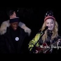 Kampányhajrá: Madonna bensőséges hangulatú koncertet adott Hillary Clinton támogatására