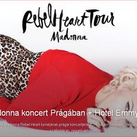 Kiemelt ajánlat: Madonna-koncert és két éjszaka Prágában a TravelBirddel!