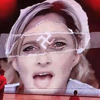 Madonna az emberi jogokról beszélne Marine Le Pennel