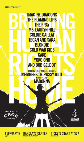 Madonna to Introduce The Pussy Riot at Amnesty International Concert February 5th.jpg