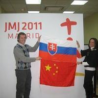 Az én zászlóm a madridi Ifjúsági Világtalkozón