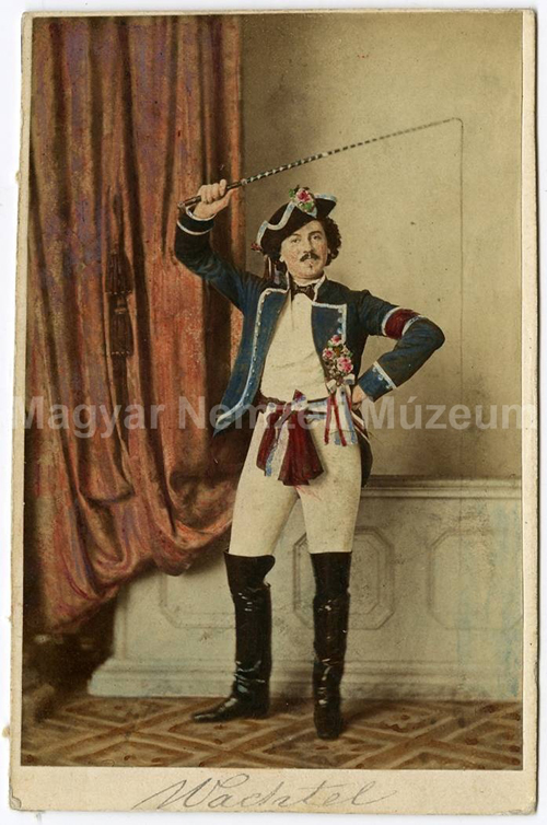 Wachtel Tivadar, a pesti német színház művésze, 1865 k. Mayer György fel. vízjeles.jpg