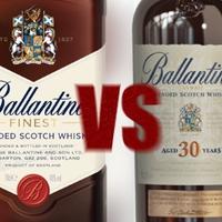 Whisky Show 2015 Addendum - The Battle of Ballantine's